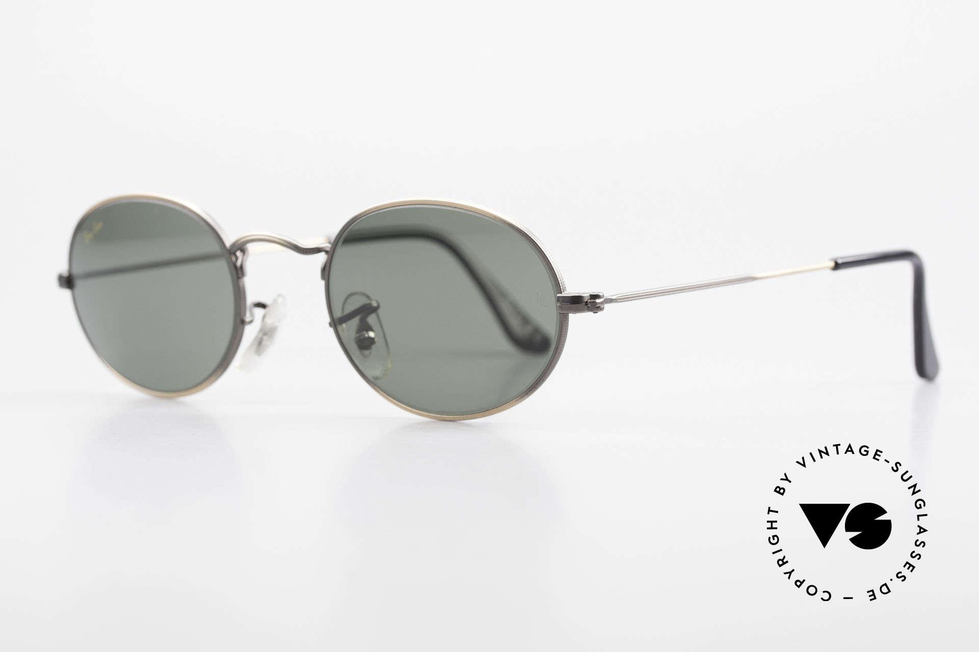 Ray Ban Classic Style I Ovale Ray-Ban Sonnenbrille, beste Qualität von Bausch&Lomb (B&L), 100% UV, Passend für Herren und Damen