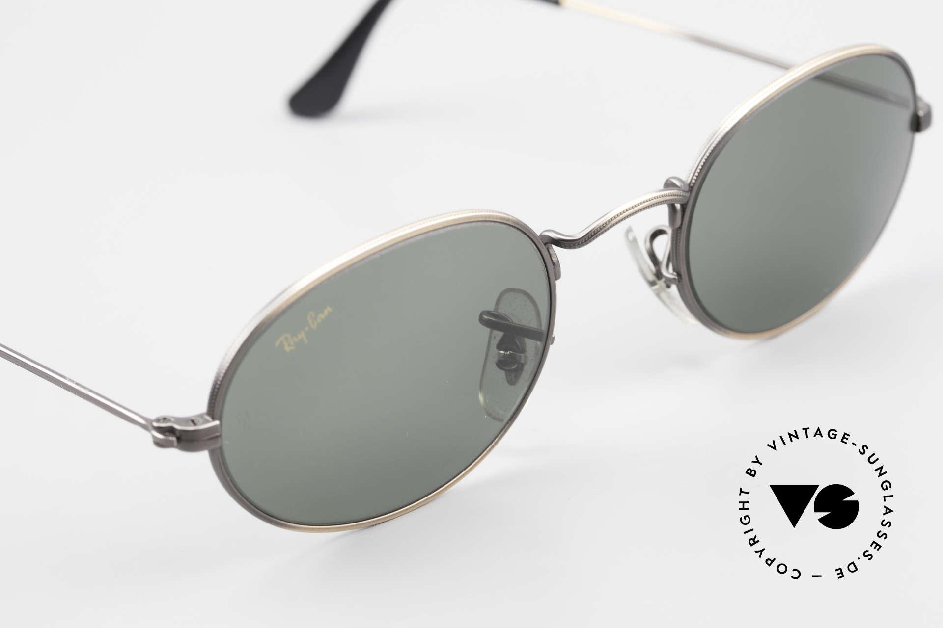 Ray Ban Classic Style I Ovale Ray-Ban Sonnenbrille, KEINE Retro-Sonnenbrille; ein 90er Jahre Original, Passend für Herren und Damen