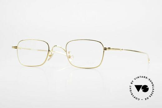 Lunor V 109 Lunor Herrenbrille Vergoldet Details