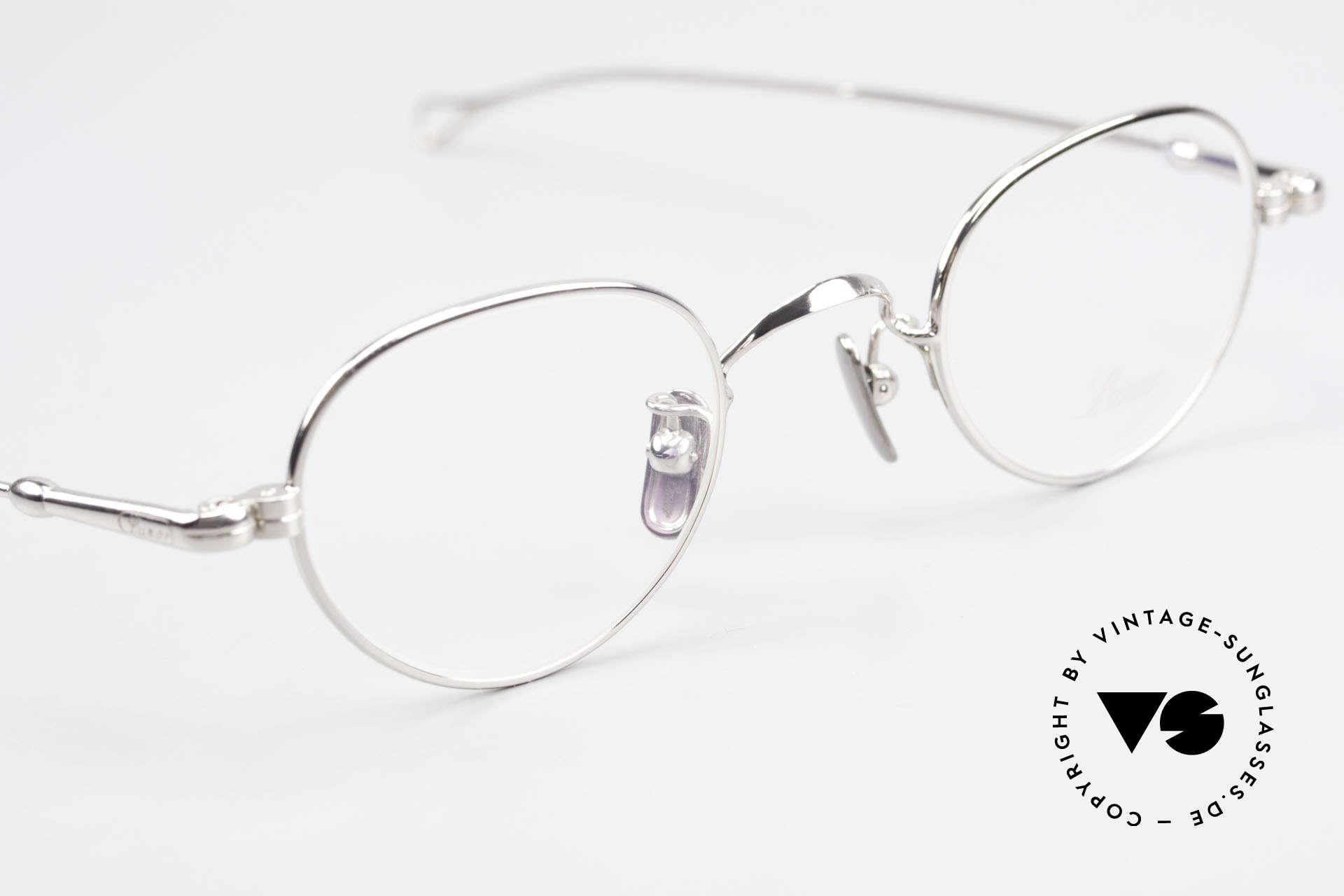 Lunor V 103 Zeitlose Lunor Brille Platin, daher jetzt erstmalig in unserem vintage Sortiment, Passend für Herren und Damen