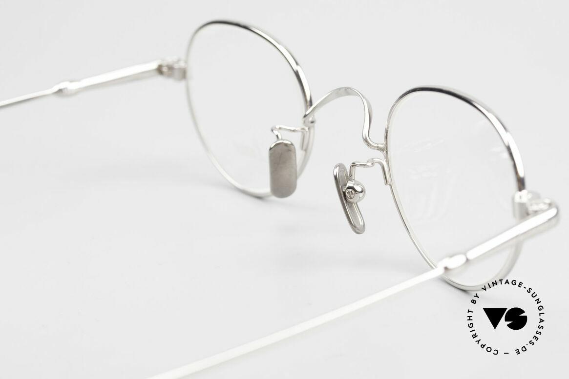 Lunor V 103 Zeitlose Lunor Brille Platin, Größe: medium, Passend für Herren und Damen