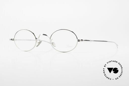 Lunor V 100 Ovale Vintage Lunor Brille Details