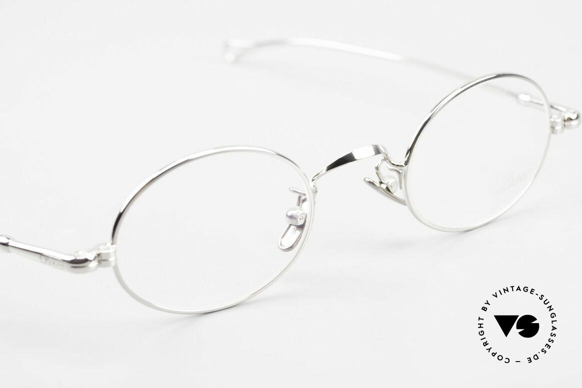Lunor V 100 Ovale Vintage Lunor Brille, daher jetzt erstmalig in unserem vintage Sortiment, Passend für Herren und Damen