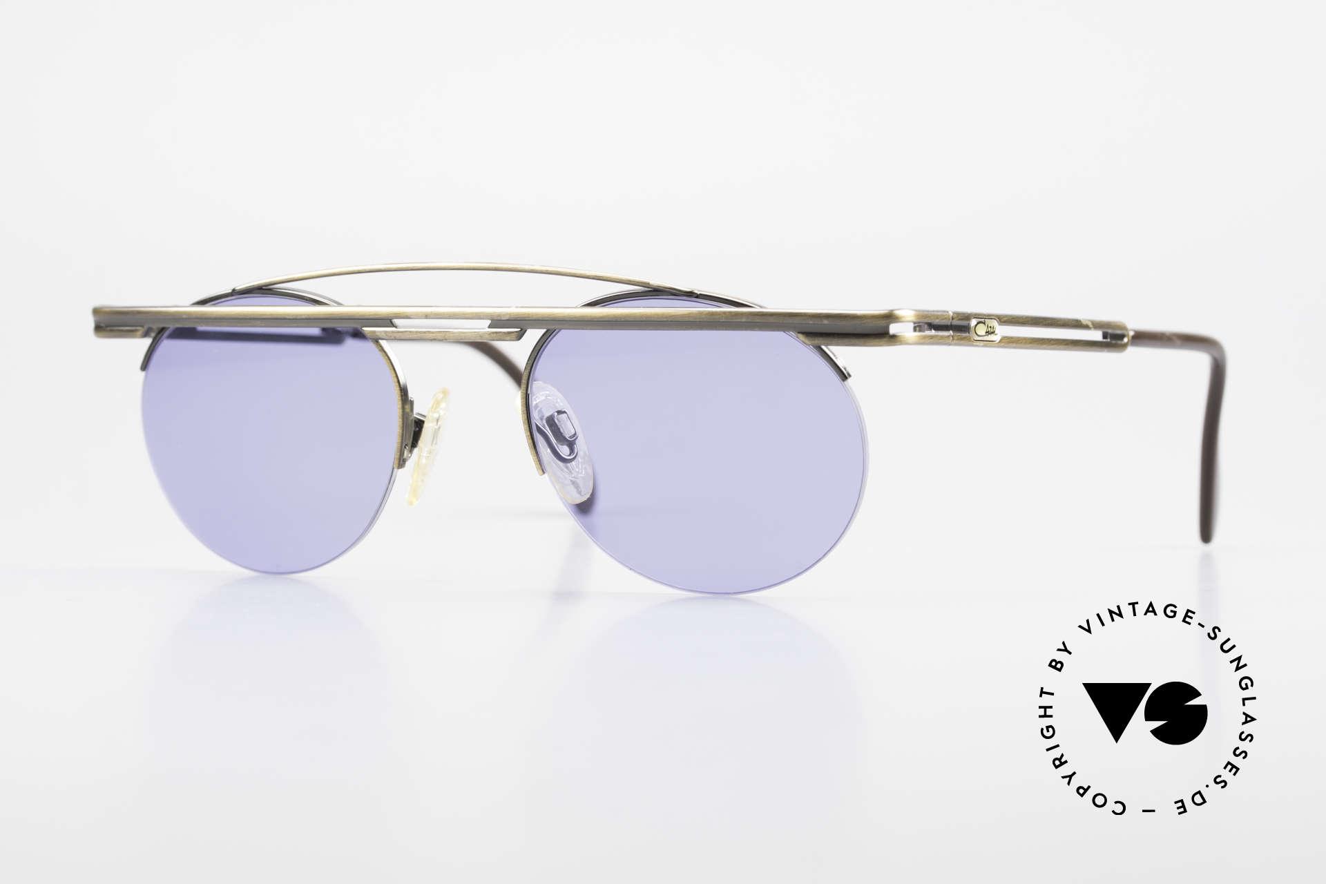 Cazal 748 Alte 90er Vintage Sonnenbrille, interessante Cazal vintage Sonnenbrille von ca. 1997, Passend für Herren und Damen