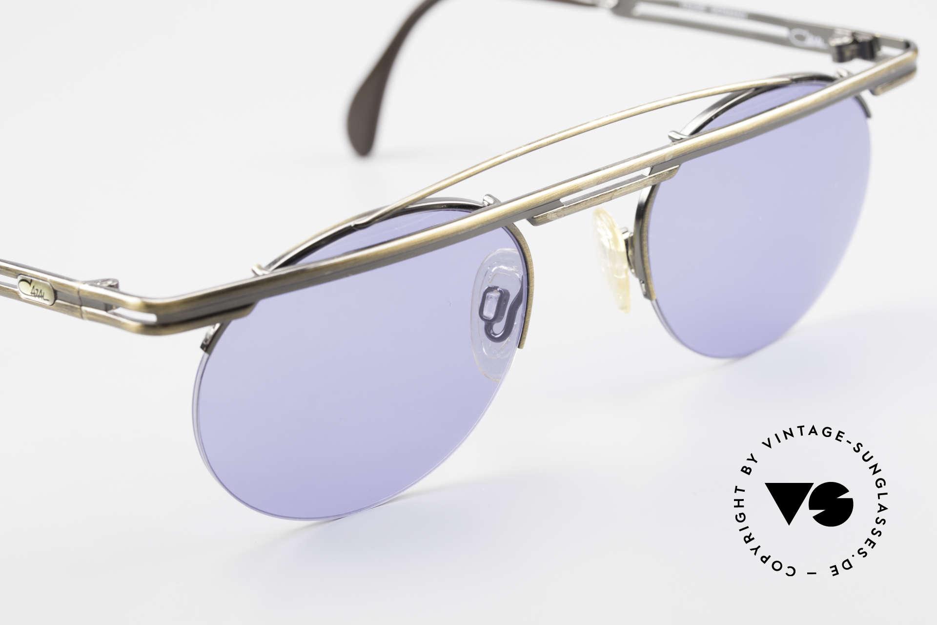 Cazal 748 Alte 90er Vintage Sonnenbrille, ungetragen (wie alle unsere VINTAGE CAZAL Brillen), Passend für Herren und Damen