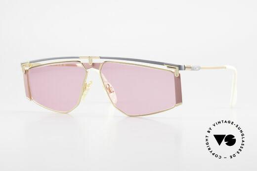 Cazal 235 Pinke Titanium Vintage Brille Details