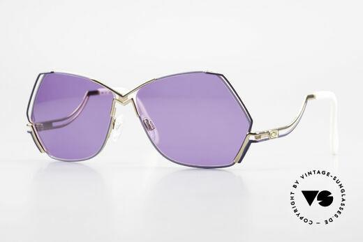 Cazal 226 Vintage Sonnenbrille Damen Details