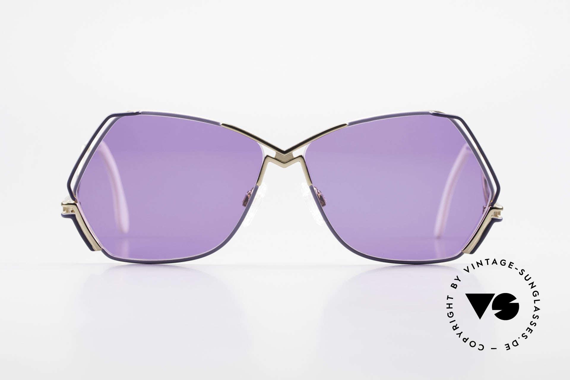 Cazal 226 Vintage Sonnenbrille Damen, zauberhafte Creation von CAri ZALloni (Mr. CAZAL), Passend für Damen