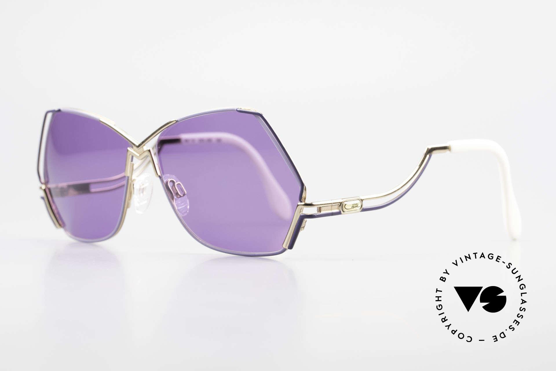 Cazal 226 Vintage Sonnenbrille Damen, edles, perfekt abgestimmtes Farbkonzept; Hingucker!, Passend für Damen