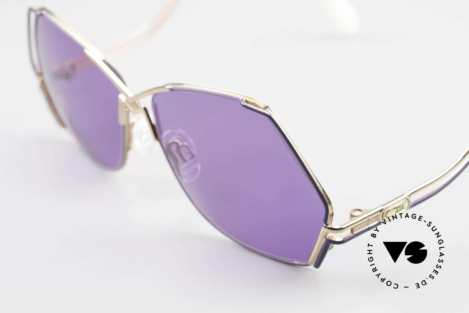 Cazal 226 Vintage Sonnenbrille Damen, 80er Rahmen (W.Germany), 90er = made in Germany, Passend für Damen
