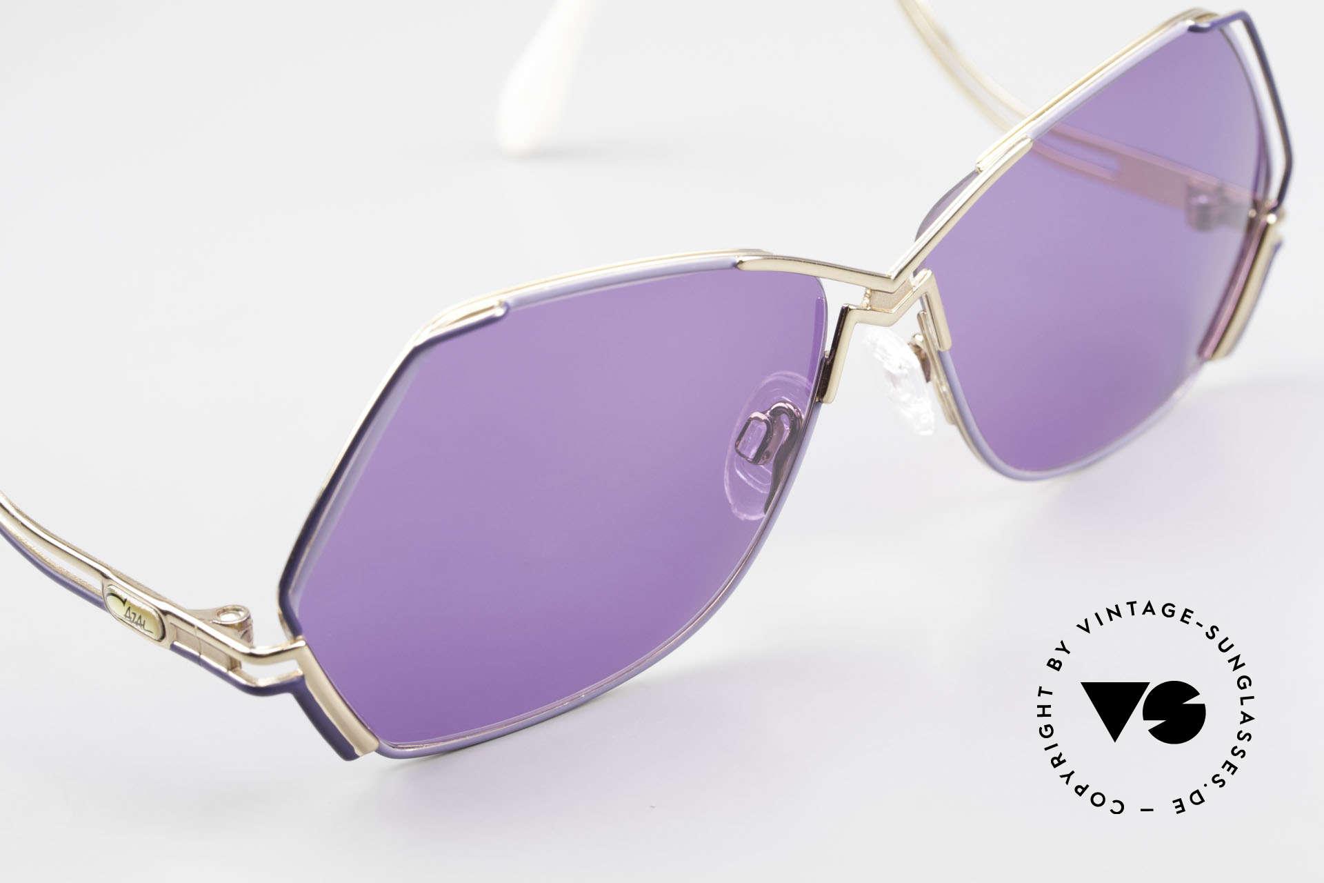 Cazal 226 Vintage Sonnenbrille Damen, KEINE Retrobrille, sondern ein einzigartiges Original!, Passend für Damen