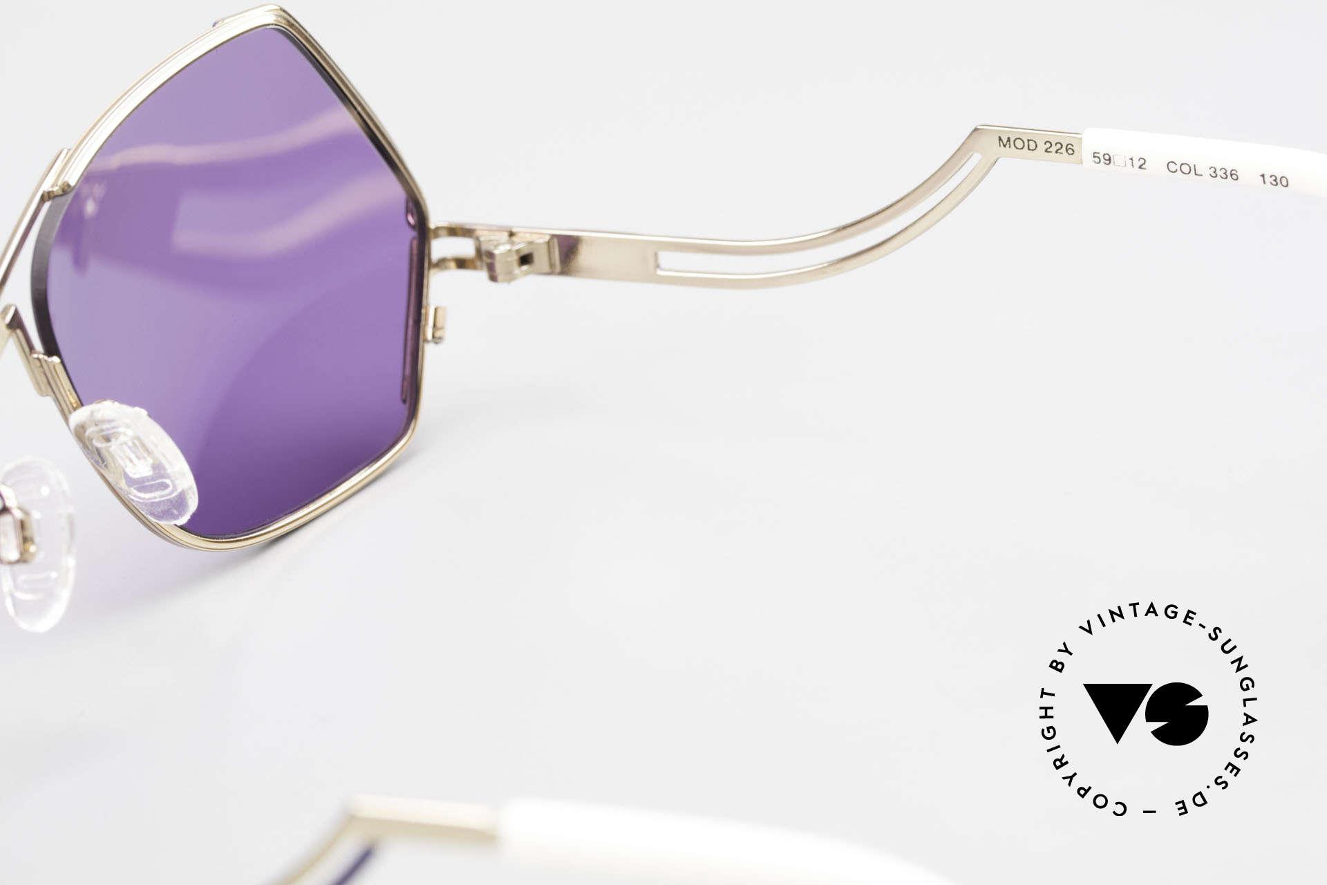 Cazal 226 Vintage Sonnenbrille Damen, Größe: medium, Passend für Damen