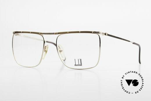 Dunhill 6056 Alte 80er Horn Vintage Brille Details