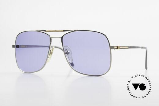 Dunhill 6038 18kt Gold Titanium 80er Brille Details