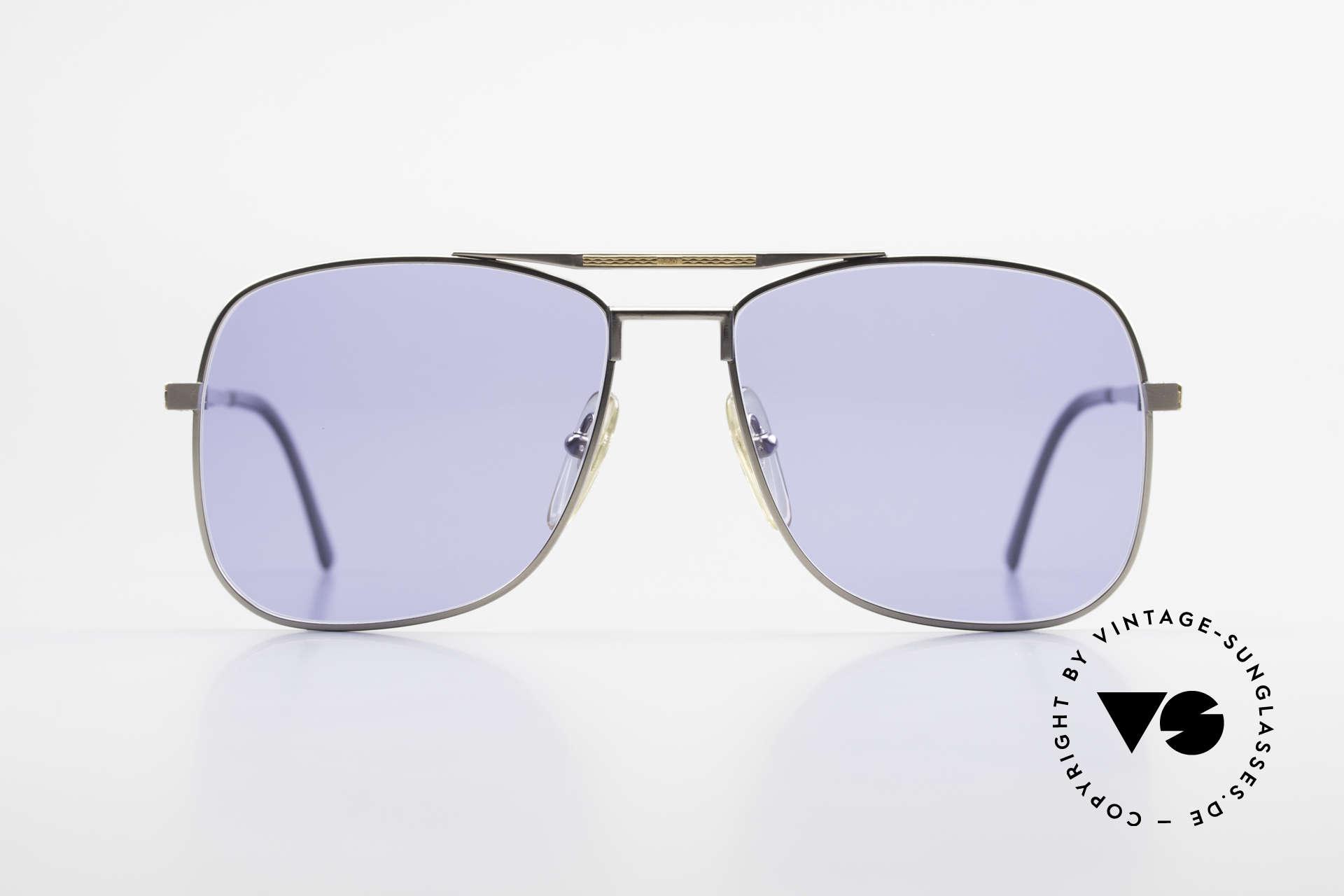Dunhill 6038 18kt Gold Titanium 80er Brille, edler & hochwertiger geht's nicht - muss man fühlen!, Passend für Herren