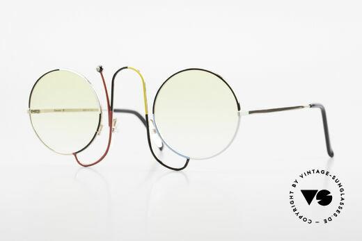 Casanova CMR 1 Rare 80er Kunst Sonnenbrille Details