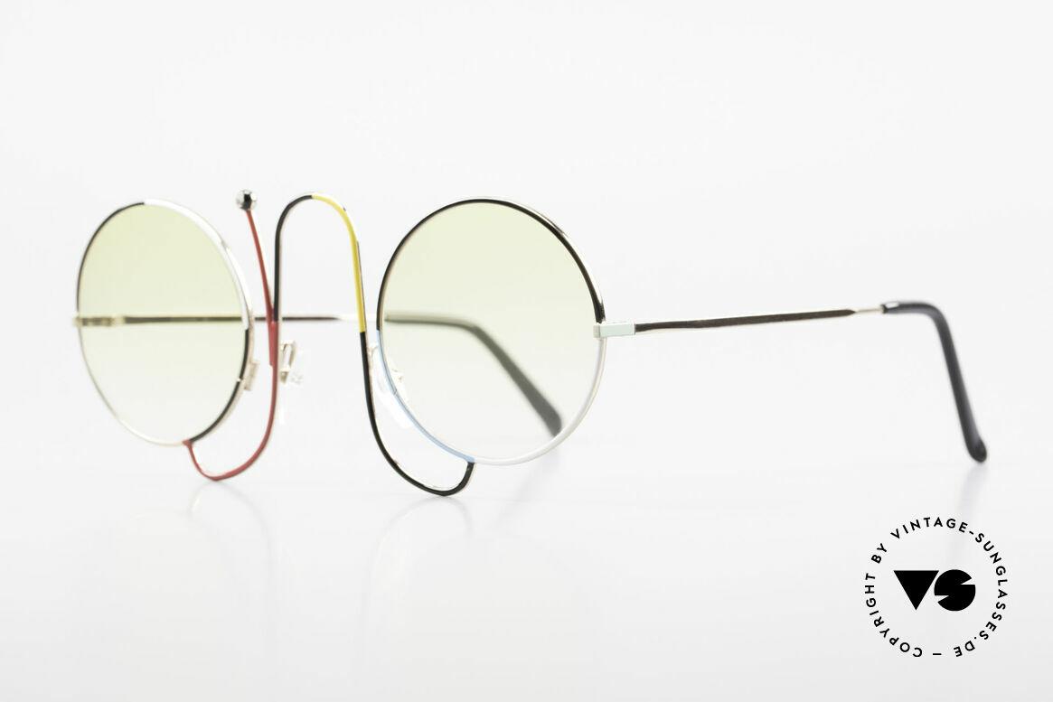 Casanova CMR 1 Rare 80er Kunst Sonnenbrille, Rarität & absolutes Highlight für Sammler, Passend für Damen