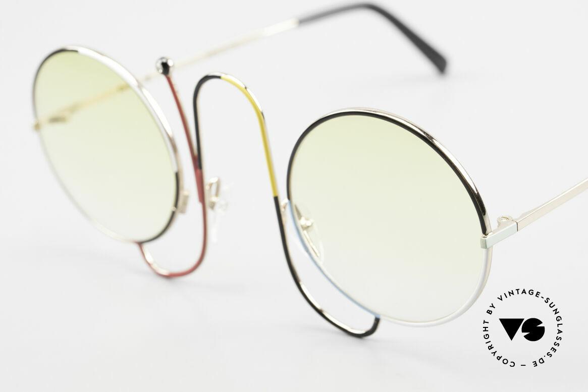 Casanova CMR 1 Rare 80er Kunst Sonnenbrille, legendäres Modell mit der 'Strass-Antenne', Passend für Damen