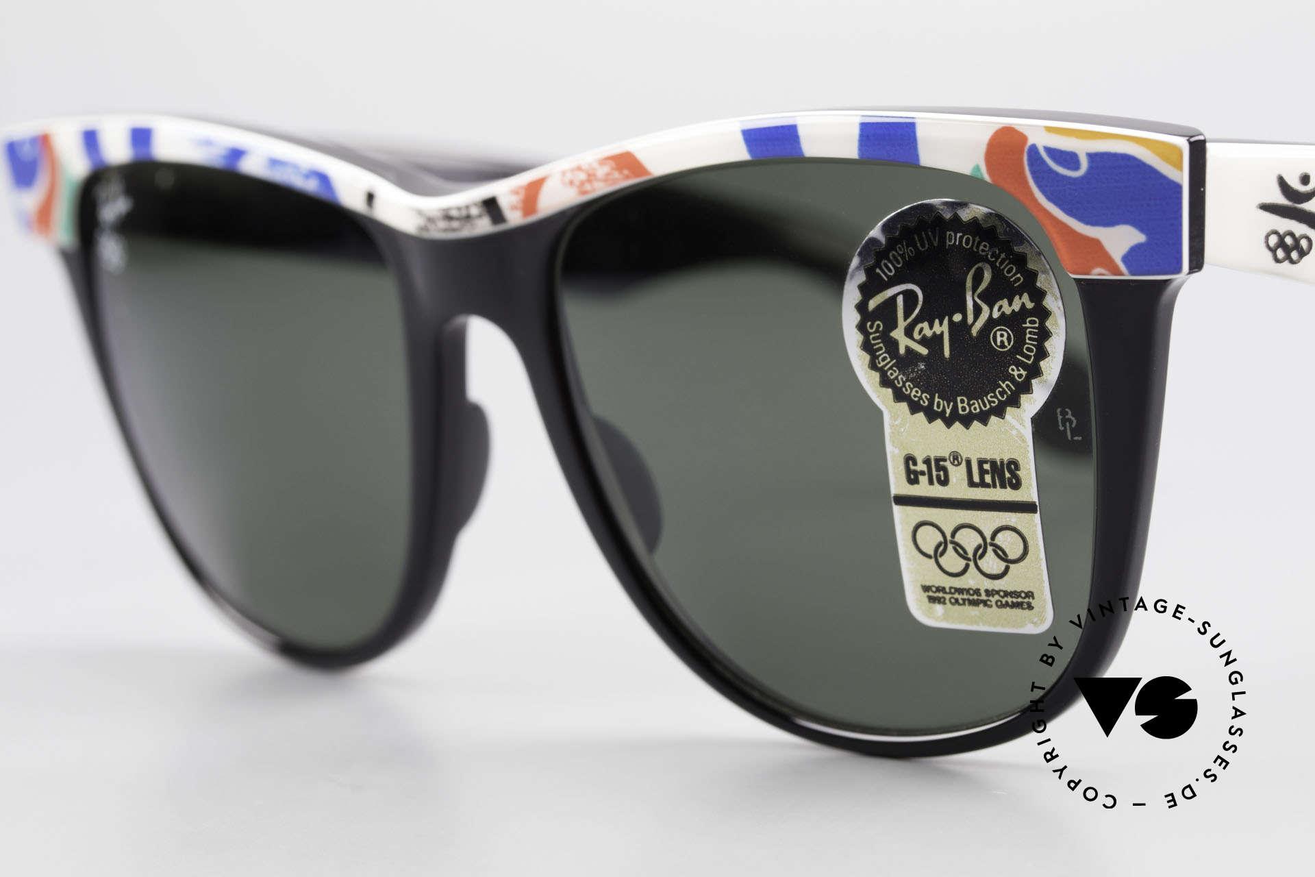 Ray Ban Wayfarer II Olympia Brille 1992 Barcelona, Größe: large, Passend für Herren und Damen