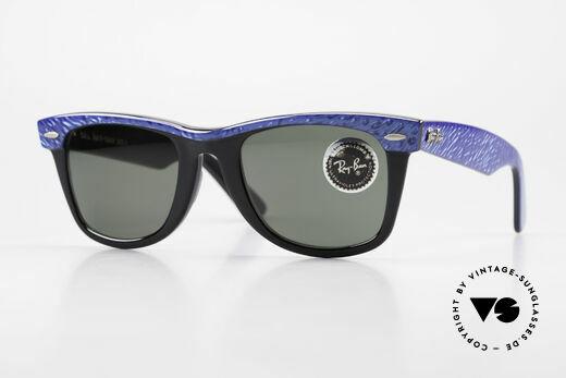 Ray Ban Wayfarer I Alte 80er Sonnenbrille USA Details
