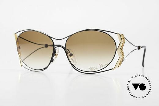 Paloma Picasso 3707 Strass Damensonnenbrille 90er Details