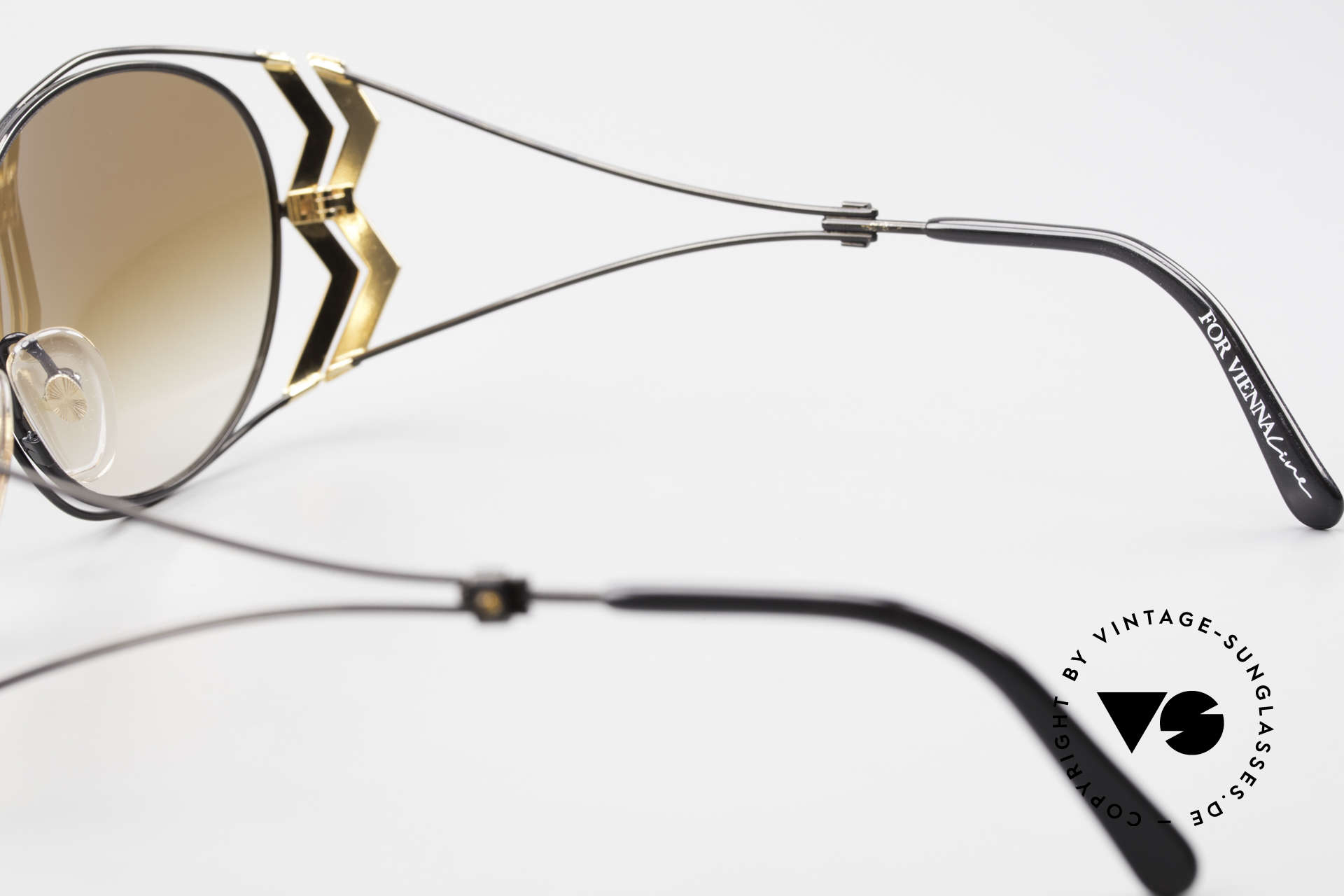 Paloma Picasso 3707 Strass Damensonnenbrille 90er, Größe: medium, Passend für Damen