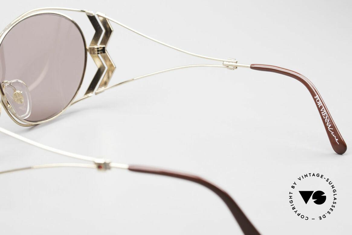 Paloma Picasso 3707 90er Sonnenbrille Mit Strass, Größe: medium, Passend für Damen