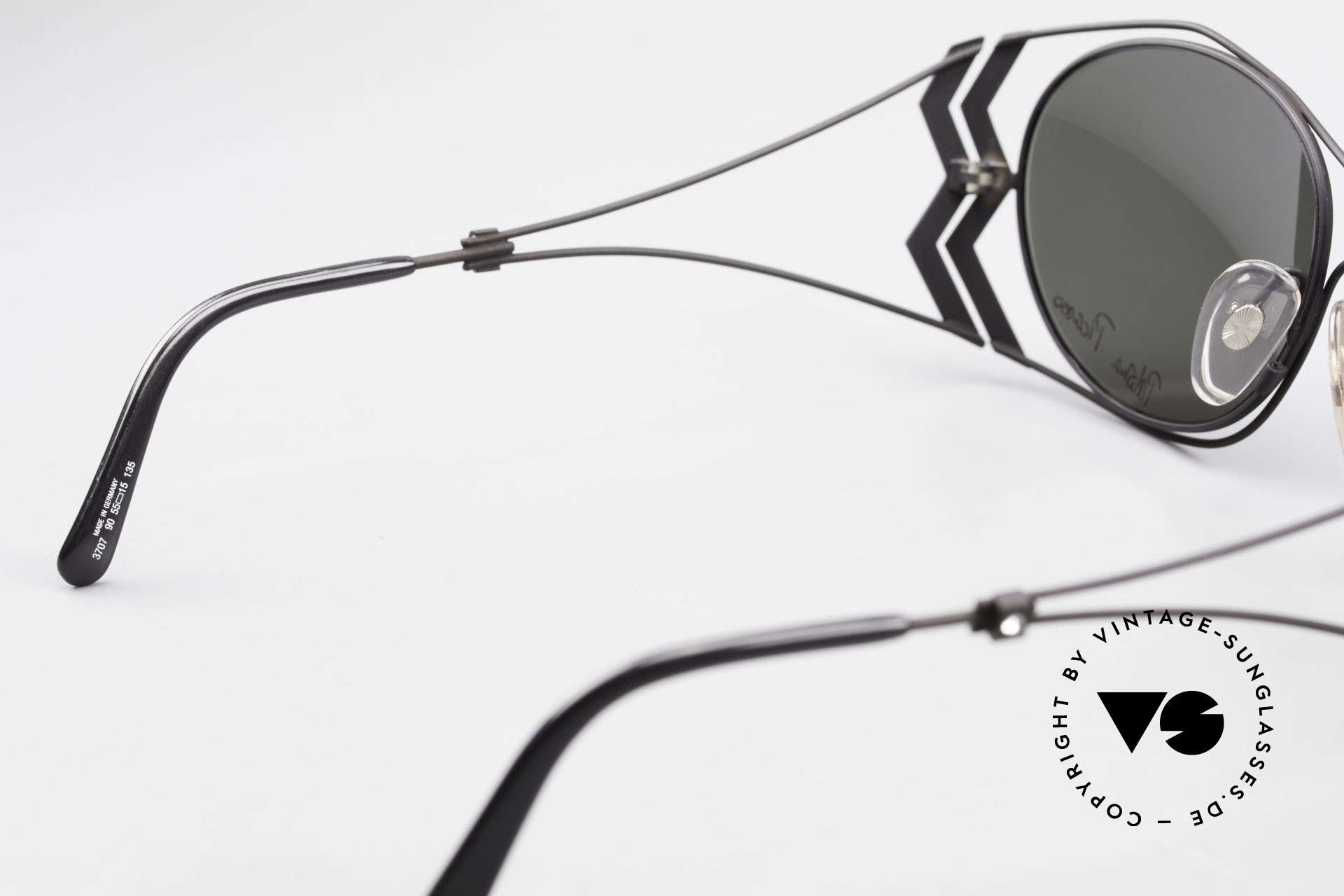 Paloma Picasso 3707 1990er Sonnenbrille Kristall, Größe: medium, Passend für Damen