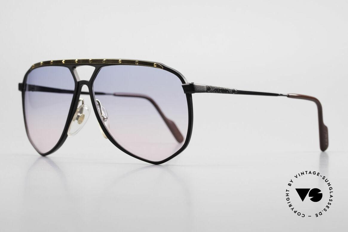 Alpina M1/4 Alte 80er Brille Baby-Blau Pink, absolute Rarität; Gläser in babyblau-pink Verlauf, Passend für Herren