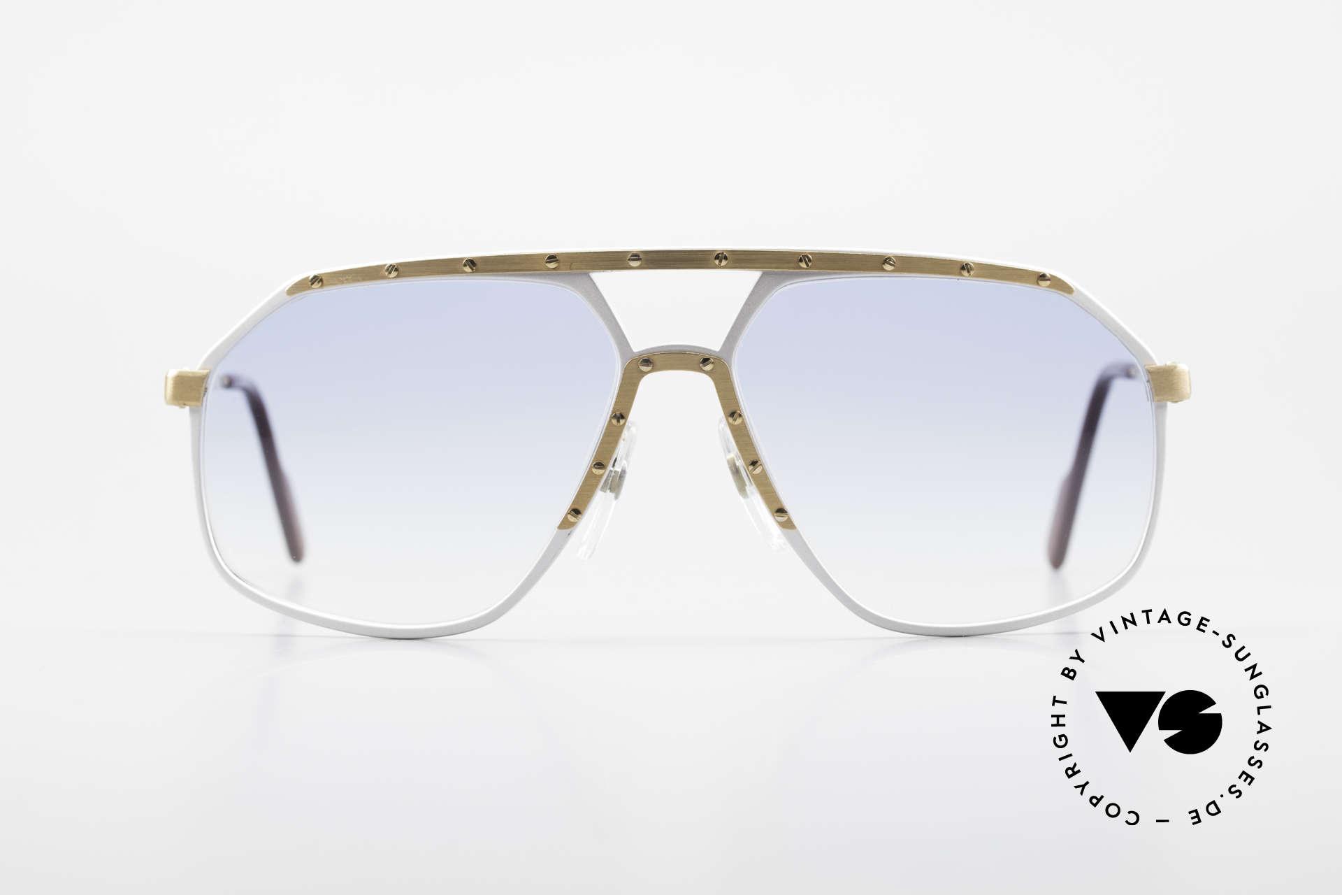 Alpina M6 80er Sonnenbrillen Klassiker, ein kostbares 80er ORIGINAL: Sammlersonnenbrille, Passend für Herren