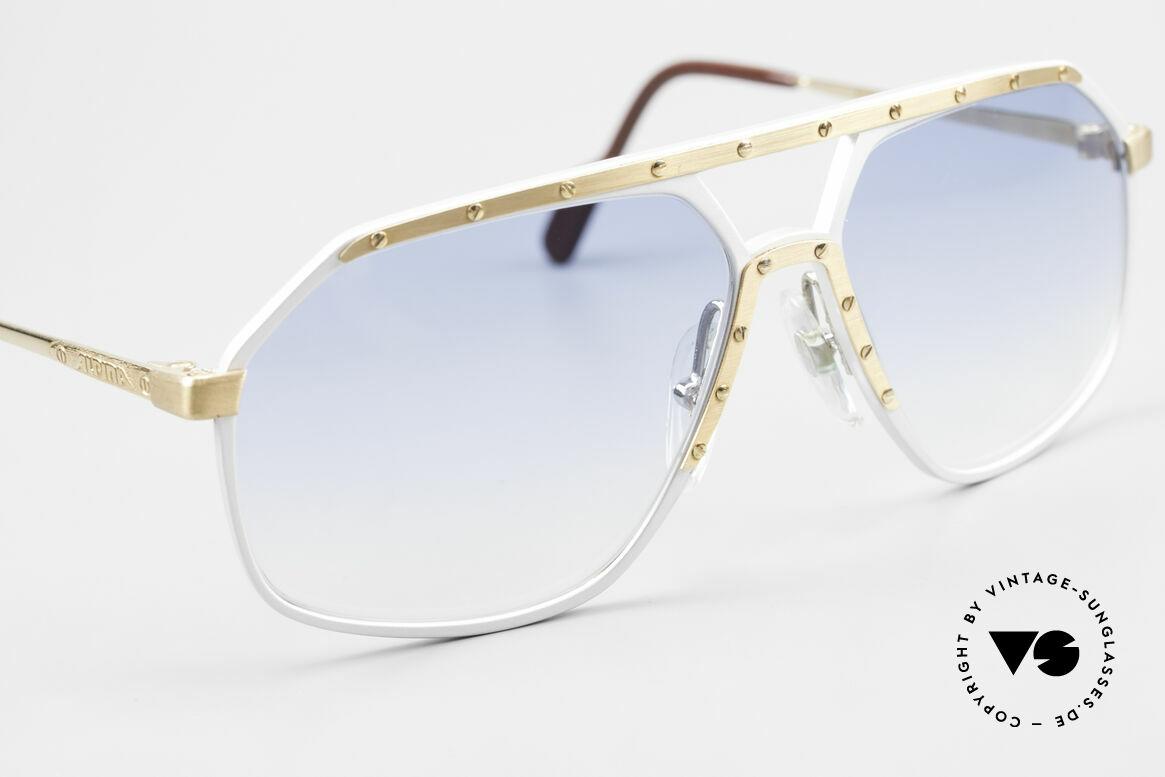 Alpina M6 80er Sonnenbrillen Klassiker, ungetragen (wie alle unsere Alpina Designerbrillen), Passend für Herren