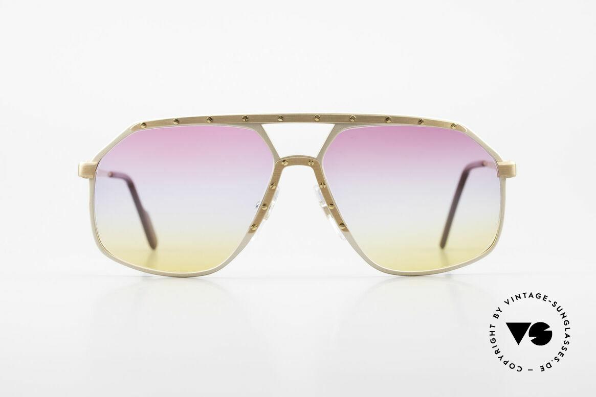 Alpina M6 80er Brillenklassiker Sunset, ein kostbares 80er ORIGINAL: Sammlersonnenbrille, Passend für Herren und Damen