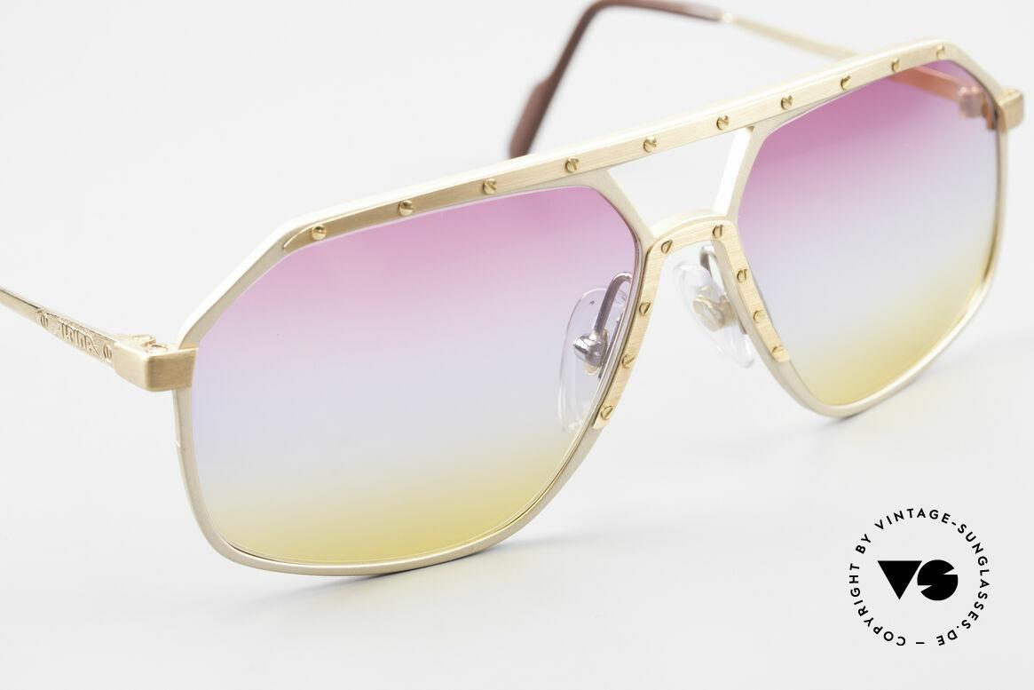 Alpina M6 80er Brillenklassiker Sunset, ungetragen (wie alle unsere Alpina Designerbrillen), Passend für Herren und Damen