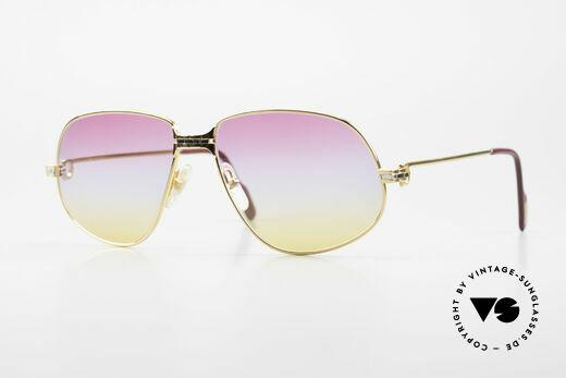 Cartier Panthere G.M. - L Sunrise Gläser Mit Bvlgari Etui Details