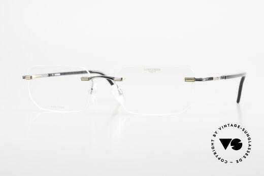 Longines 4238 Randlose 90er Brille Herren Details