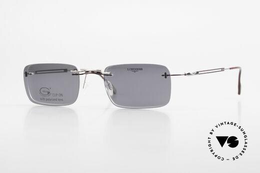 Longines 4367 Randlosbrille Polarisierend Details