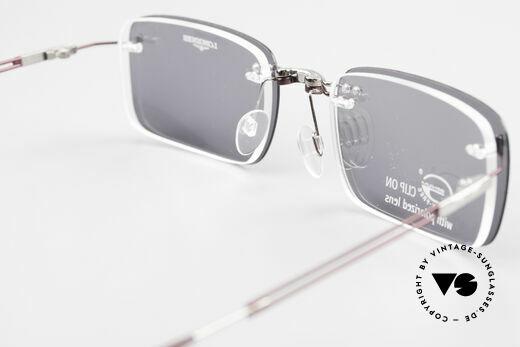 Longines 4367 Randlosbrille Polarisierend, Größe: medium, Passend für Herren