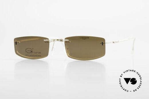 Longines 4378 Polarisierende Randlosbrille Details