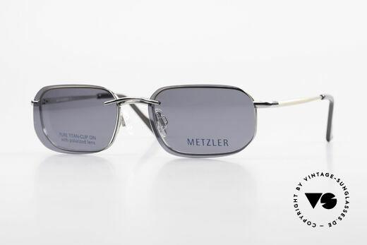 Metzler 1716 90er Titanbrille Polarisierend Details