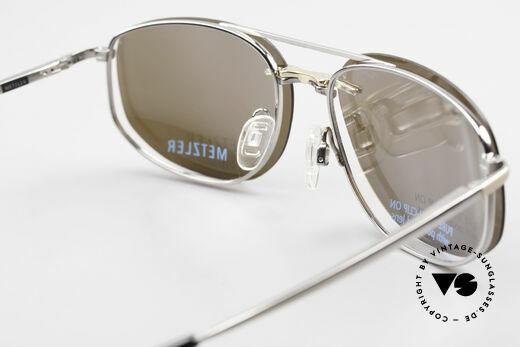 Metzler 1715 Titanbrille 90er Polarisierend, Fassung kann natürlich beliebig optisch verglast werden, Passend für Herren