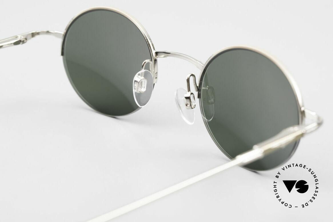 Longines 4363 Rund Ovale Sonnenbrille 90er, Größe: medium, Passend für Herren und Damen