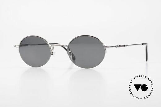 Longines 4363 90er Sonnenbrille Oval Rund Details