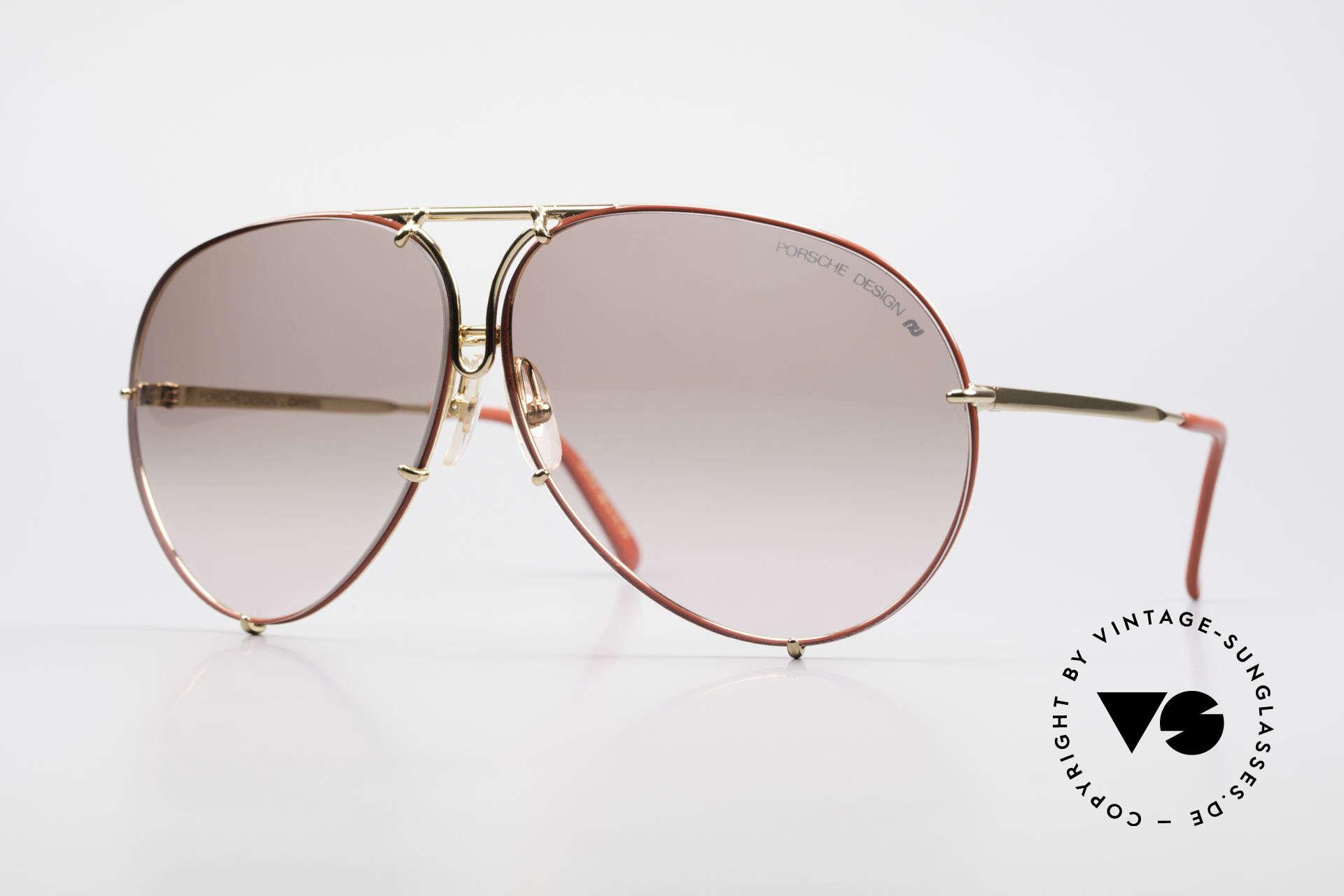 Porsche 5621 Rare 80er Brille Sonderedition, alte 80er Porsche Sonnenbrille, LIMITED EDITION, Passend für Herren und Damen