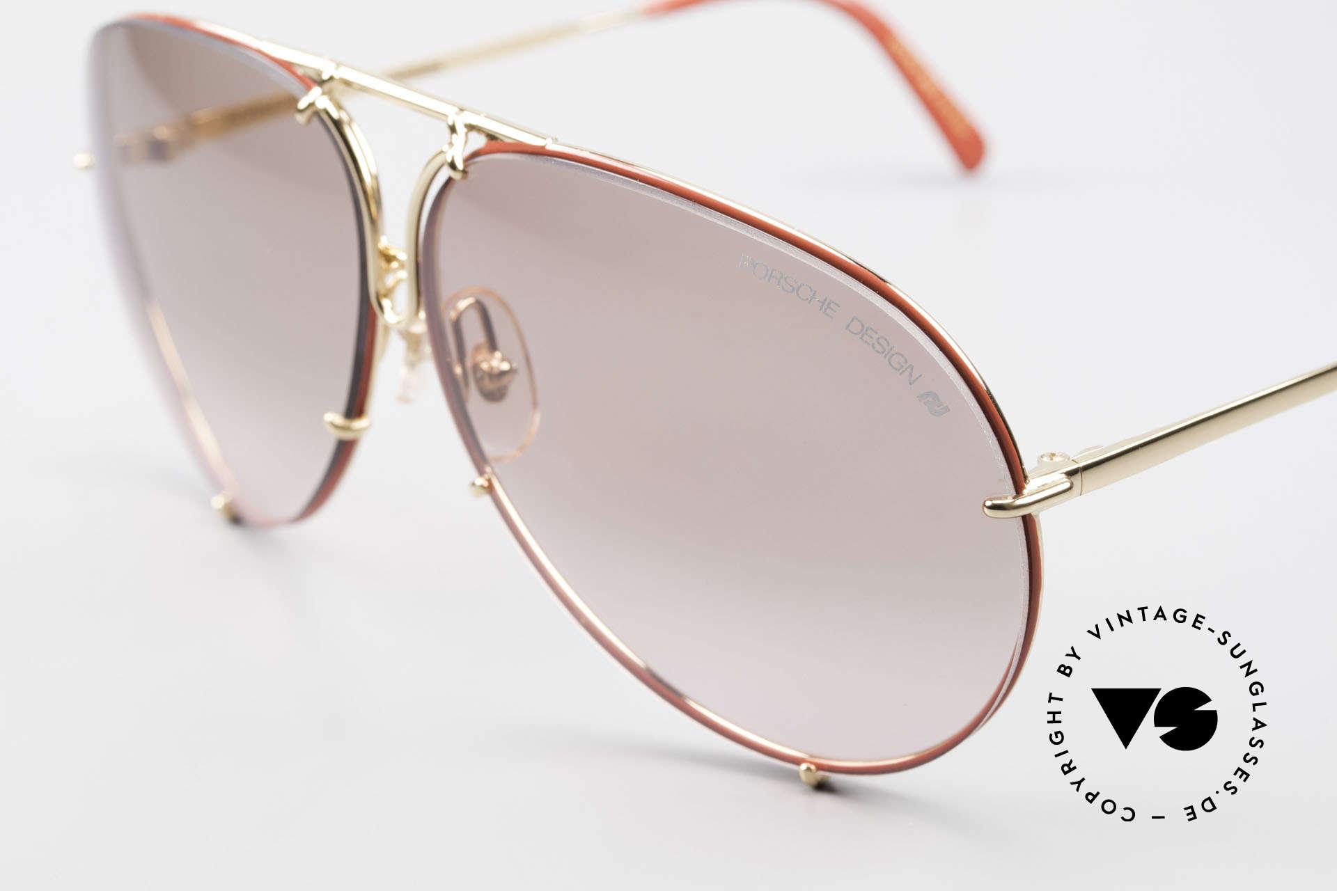 Porsche 5621 Rare 80er Brille Sonderedition, legendäre Bestseller-Sonnenbrille aus den 1980ern, Passend für Herren und Damen