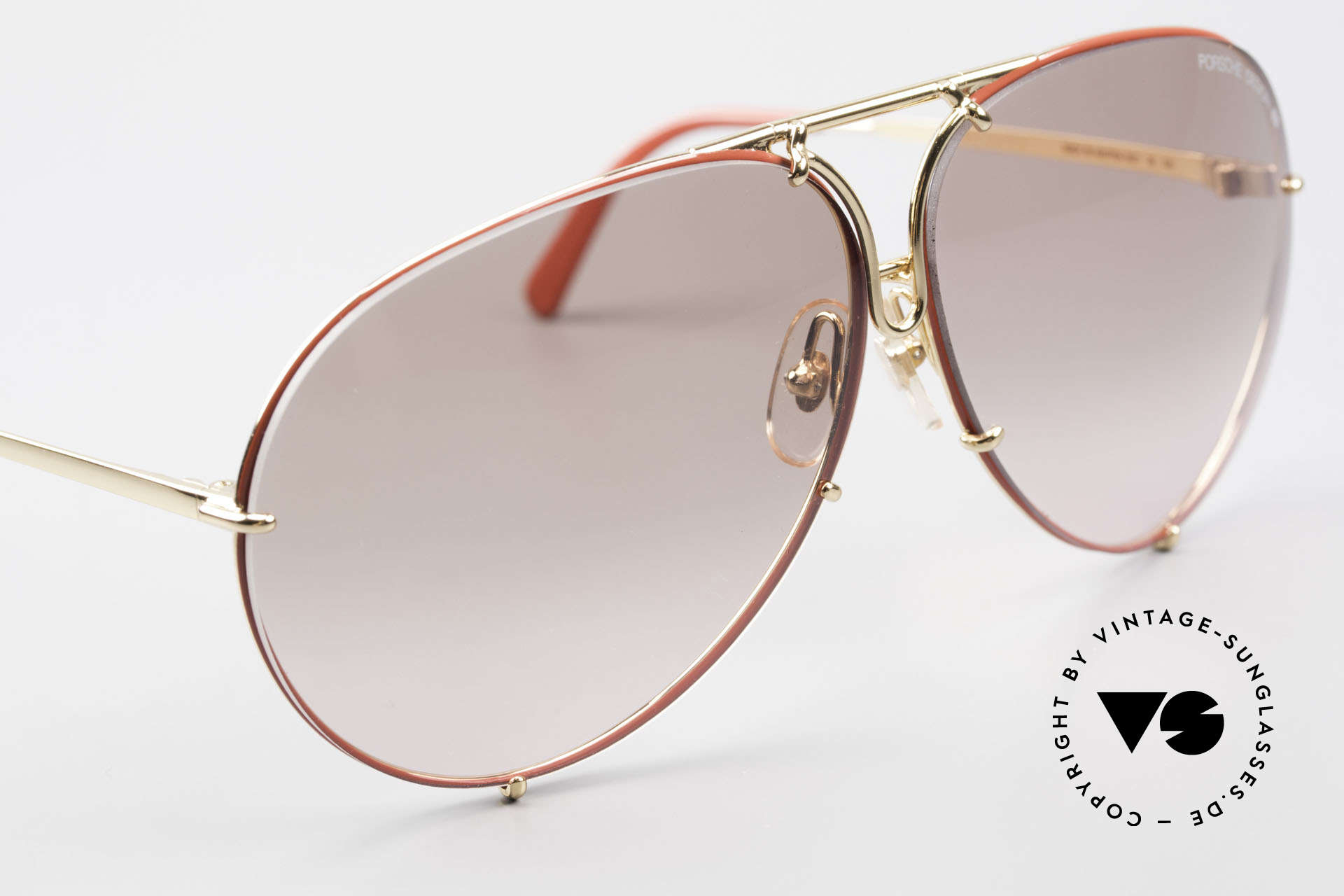 Porsche 5621 Rare 80er Brille Sonderedition, ungetragene 80er Rarität und KEINE RETRO-Brille!, Passend für Herren und Damen