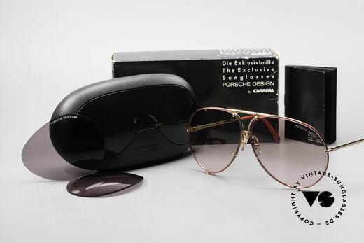 Porsche 5621 Rare 80er Brille Sonderedition, Modell 5621: 80er LARGE Größe = heute eher Gr. XL, Passend für Herren und Damen
