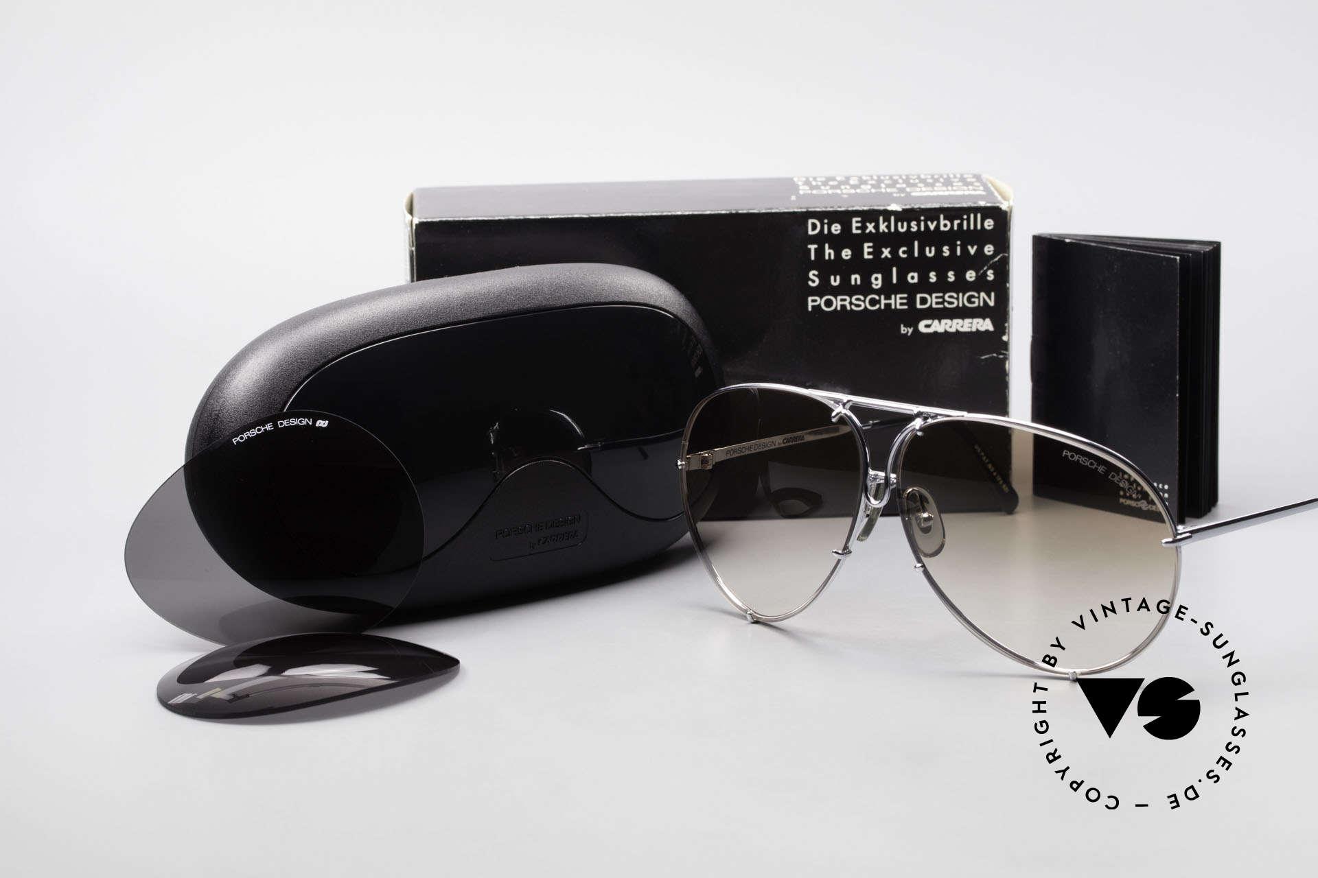 Porsche 5621 80er Brillenklassiker Herren, Modell 5621: 80er LARGE Größe = heute eher Gr. XL, Passend für Herren