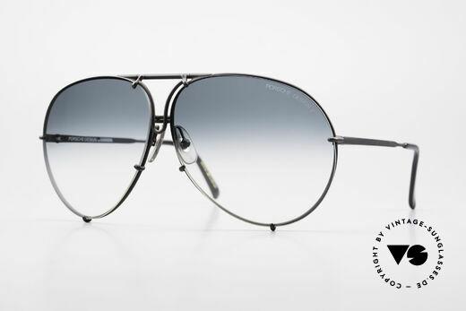 Porsche 5621 Alte 80er Aviator Sonnenbrille Details