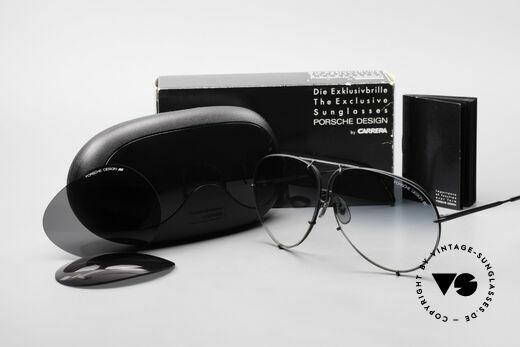 Porsche 5621 Alte 80er Aviator Sonnenbrille, Modell 5621: 80er LARGE Größe = heute eher Gr. XL, Passend für Herren