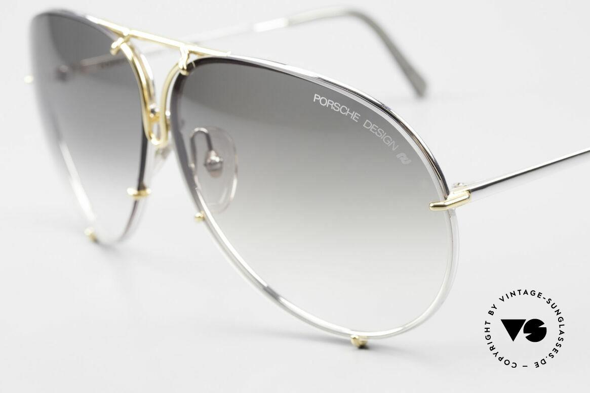 Porsche 5621 1980er Sonnenbrille Bicolor, legendäre Bestseller-Sonnenbrille aus den 1980ern, Passend für Herren